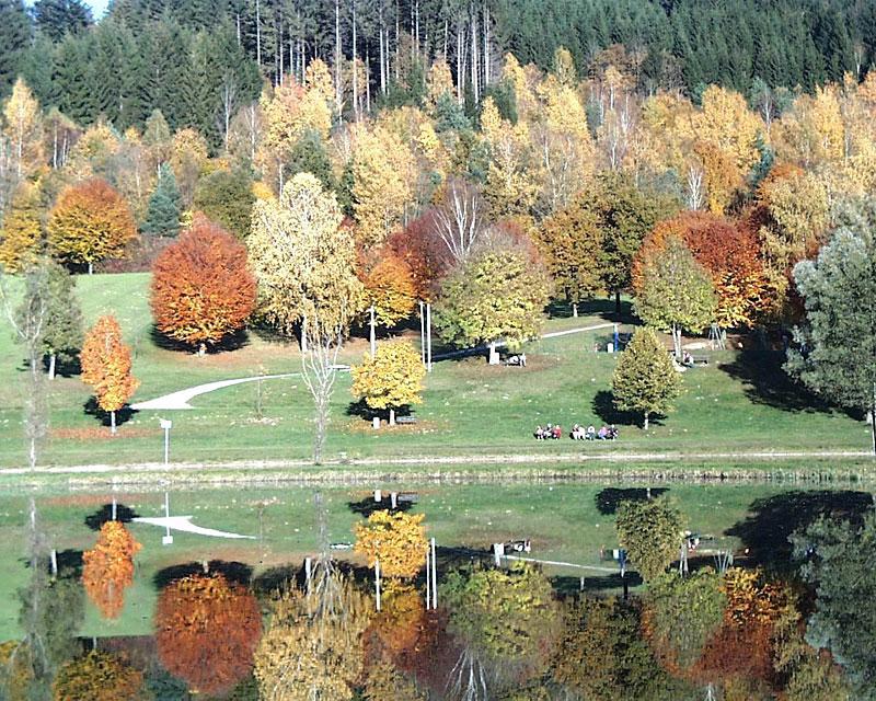 Rannasee im Bayerischen Wald - Ferienregion Wegscheid