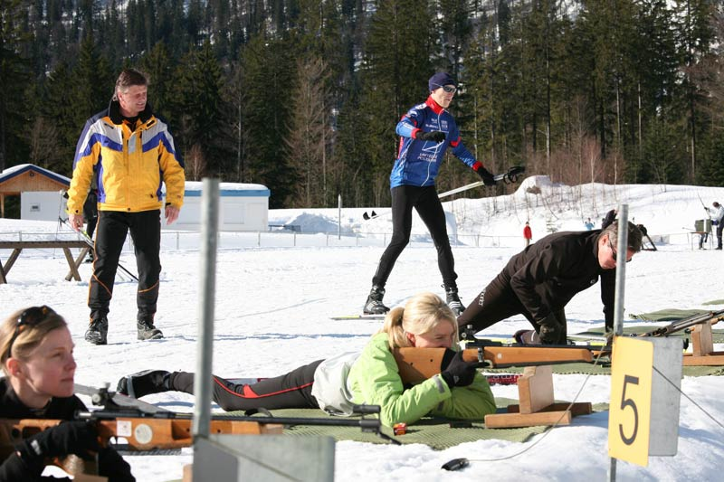 Wintersport Biathlon Bayern